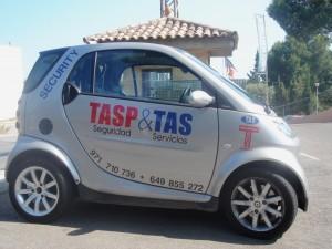 Vehiculo de TAS